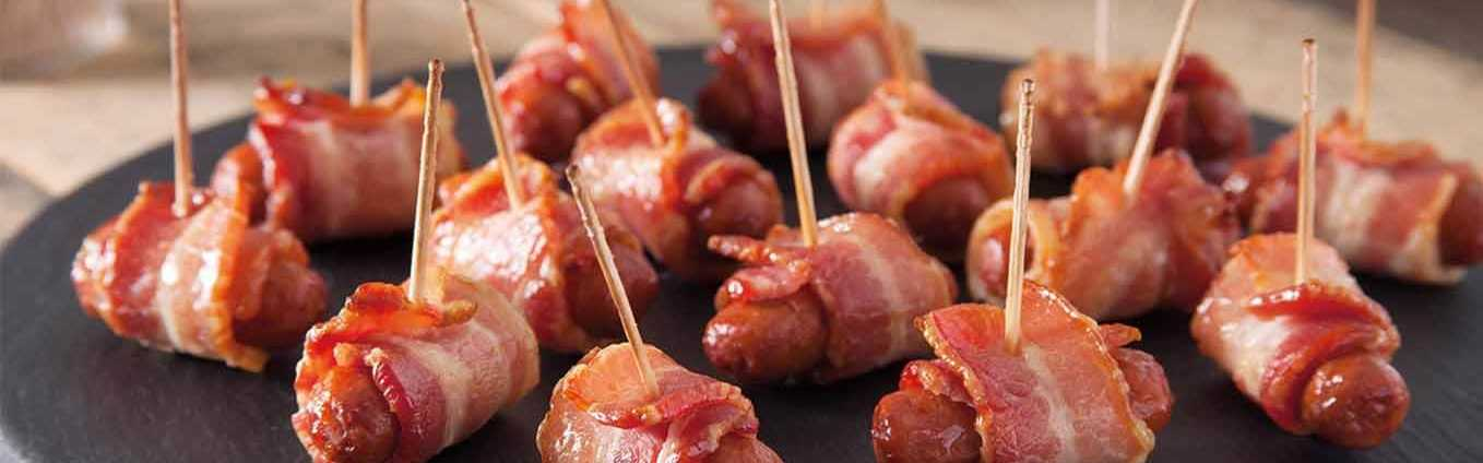 Bacon Wrapped Lit'l Smokies® Smoked Sausage