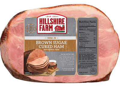 Spiral Sliced Bone-In Brown Sugar Cured Ham