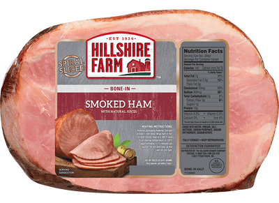 Spiral Sliced Bone-In Smoked Ham
