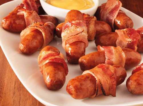 Brown Sugar Bacon Wrapped Lit'l Smokies® Smoked Sausage