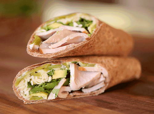 Hatch Chile Turkey Avocado Wrap