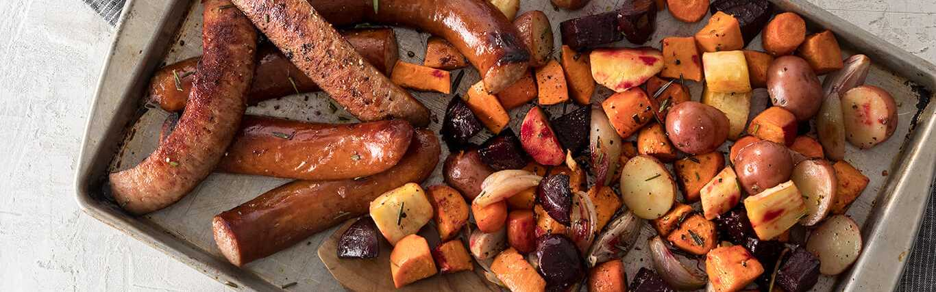 Hillshire Farm® Smoked Sausage and Roasted Root Veggies