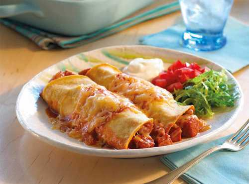 Enchiladas With Sausage