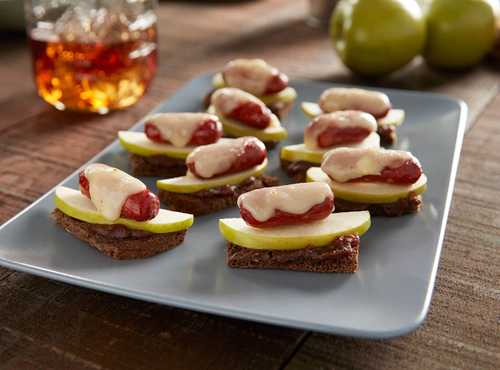 Apple Butter Toast with Lit'l Smokies® Smoked Sausage
