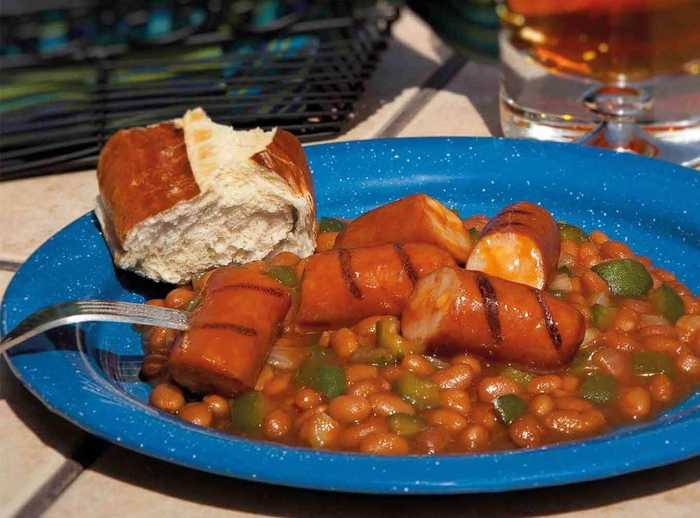 Tasty Smoked Sausage and Beans with Cheddarwurst® Smoked Sausage