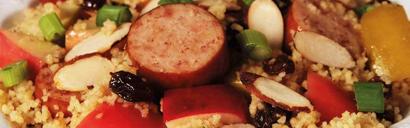 Chicken Smoked Sausage With Couscous