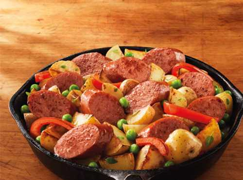 Smoked Sausage and Potato Skillet