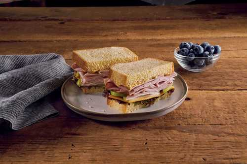 Cheddar and Apple Hardwood Smoked Turkey Sandwich