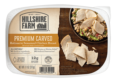 Premium Carved Rotisserie Seasoned Chicken Breast