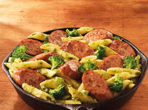 Smoked Sausage and Broccoli Penne